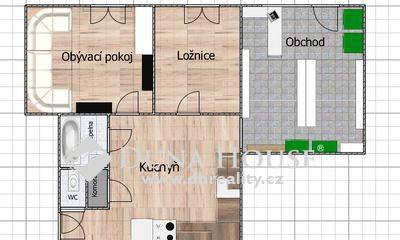 Pronájem bytu, Donská, Praha 10 Vršovice