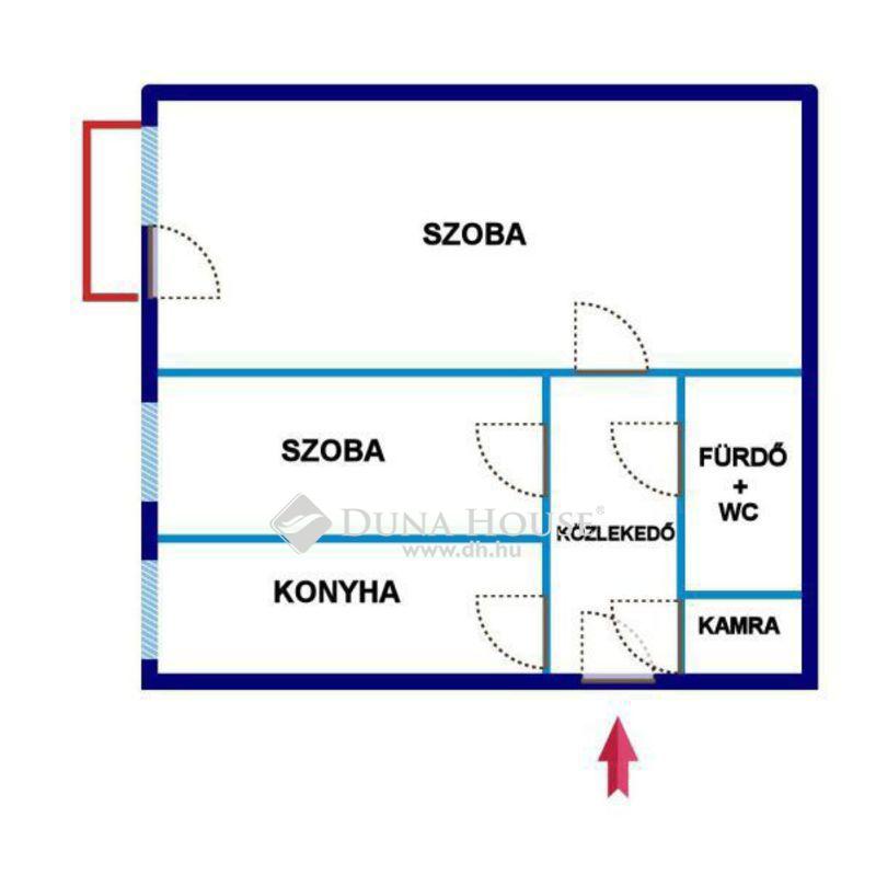 Eladó Lakás, Hajdú-Bihar megye, Debrecen, Dobozi lakótelepi, csendes 1+1 szobás lakás!