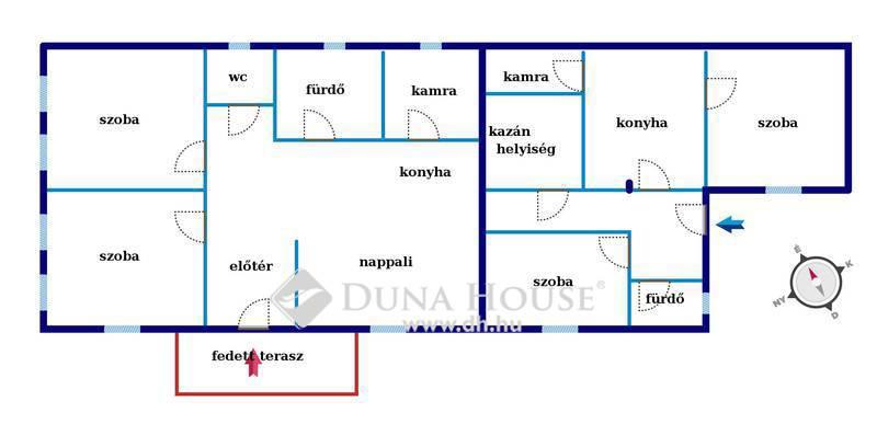 Eladó Ház, Pest megye, Tura, Buszmegálló közelében