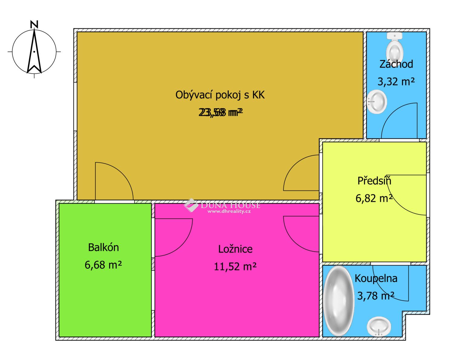 Prodej bytu, Saarinenova, Praha 9 Hloubětín