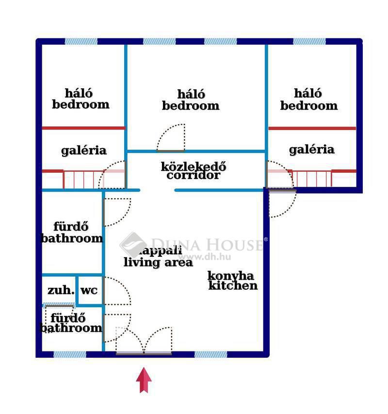 Eladó Lakás, Budapest, 7 kerület, ERZSÉBET KÖRÚTON, WESSELÉNYIRE NÉZŐ 3 HÁLÓS