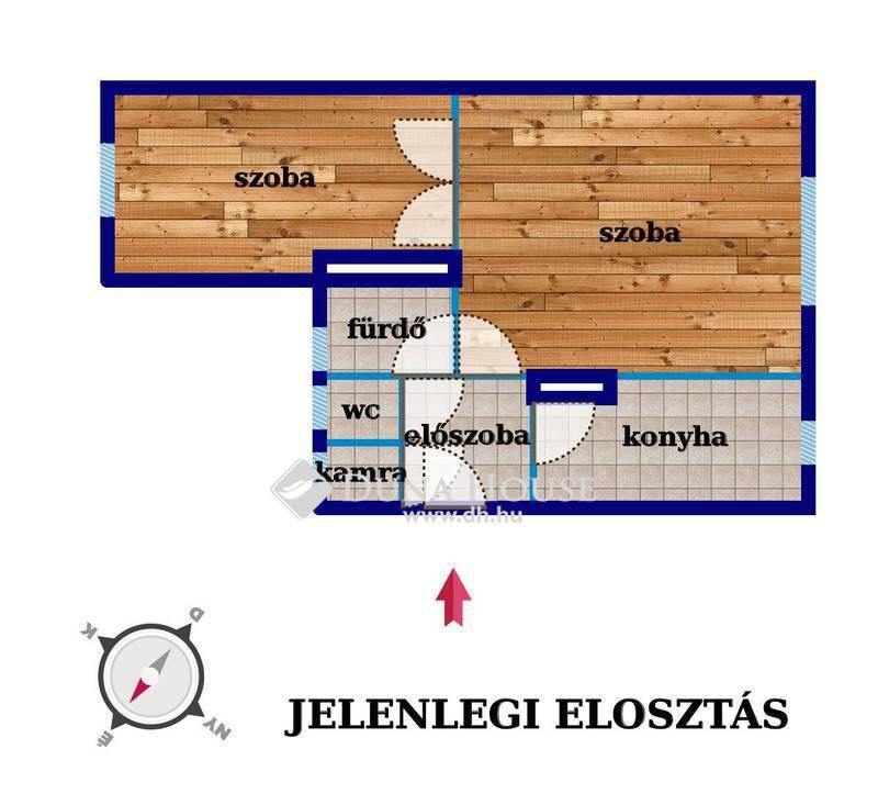 Eladó Lakás, Budapest, 14 kerület, Lőcsei utca, világos lakás 6 lakásos házban
