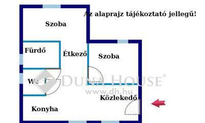 Eladó Ház, Budapest, 20 kerület, Erzsébeten jó állapotú házrész garázzsal