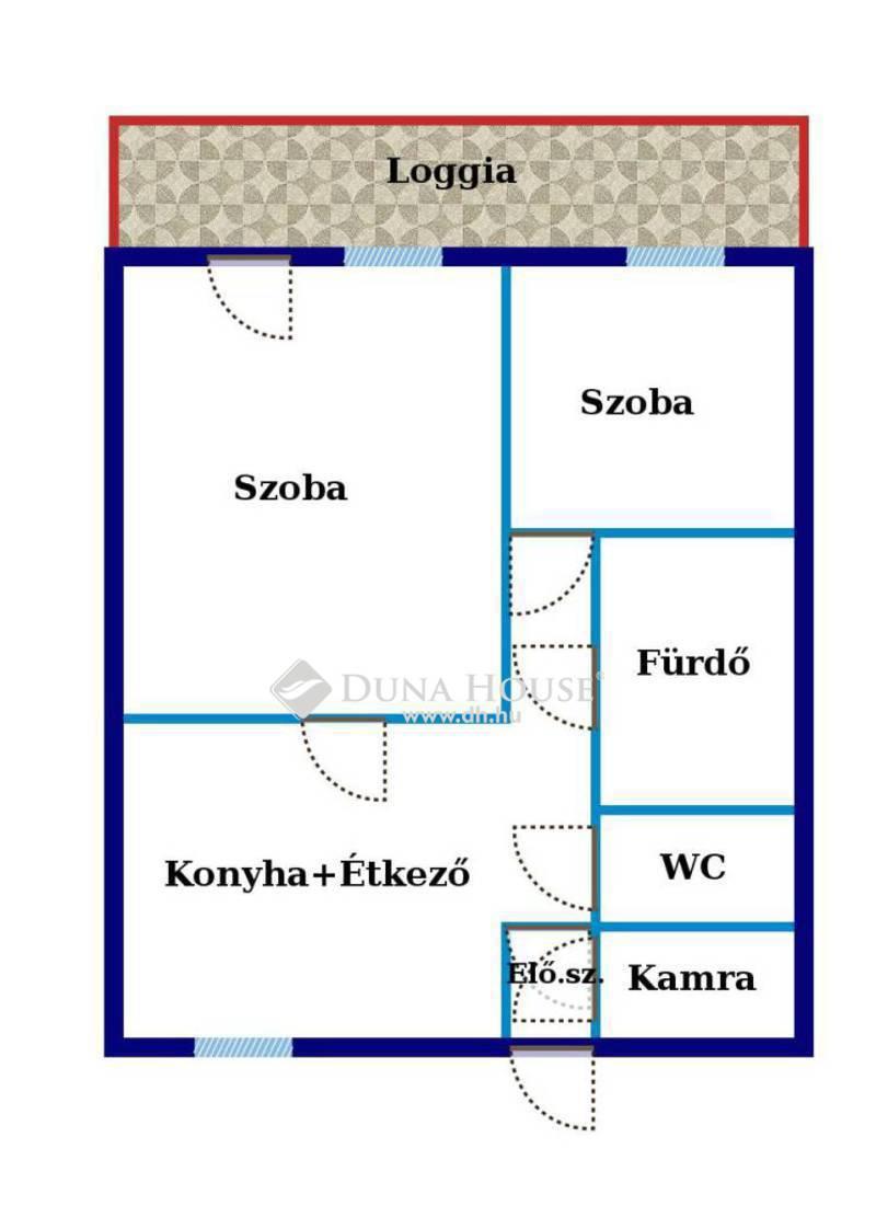 Eladó Lakás, Hajdú-Bihar megye, Debrecen, Libakert kiváló közlekedésű részén
