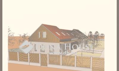 Eladó Ház, Pest megye, Őrbottyán, 107nm-es amerikai konyhás nappali+3hálós ikerház