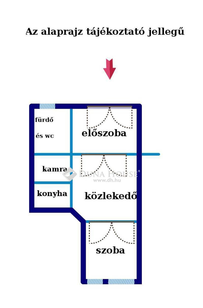 Eladó Lakás, Budapest, 8 kerület, Körúthoz közeli azonnal költözhető lakás!