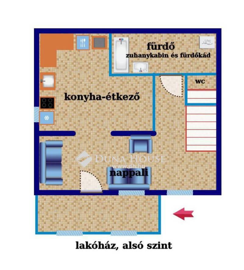 Eladó Ház, Somogy megye, Kaposvár, Gyár utca