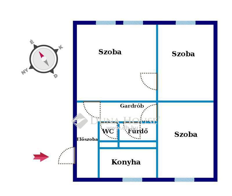 Eladó Lakás, Budapest, 10 kerület, Mázsa térnél 3 szobás lakás
