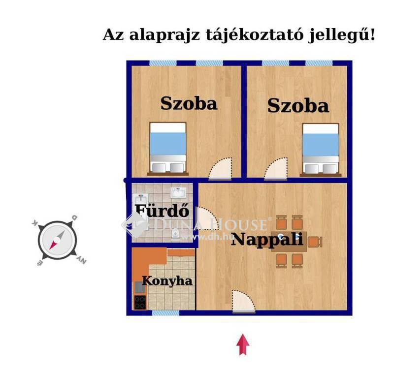 Eladó Lakás, Budapest, 7 kerület, SZÉP HÁZ 3 KÜLÖNNYÍLÓ SZOBA!