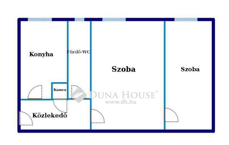 Eladó Lakás, Budapest, 11 kerület, 51 nm-es, 2 szobás lakás, új nyílászárókkal!