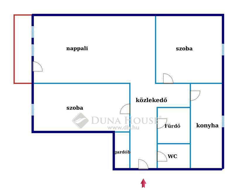 Eladó Lakás, Bács-Kiskun megye, Kecskemét, Iskola mellett 70 nm 1em. lakás eladó