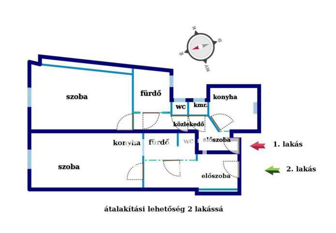 Eladó Lakás, Budapest, 5 kerület, Semmelweis utca