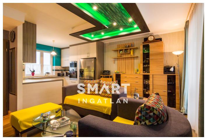 Eladó Lakás, Budapest, 13 kerület, 2018-as házban gyönyörűen berendezett Penthouse