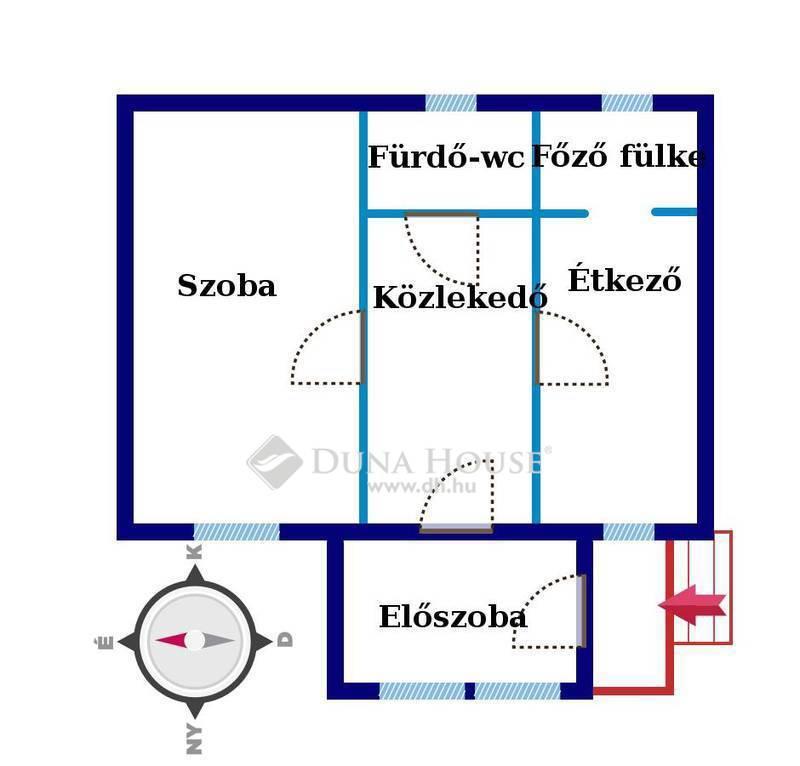 Eladó Ház, Hajdú-Bihar megye, Debrecen, Cserei utca