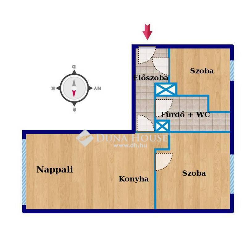 Eladó Lakás, Budapest, 11 kerület, Sas-hegy lábánál, felújított, 2+fél szobás lakás