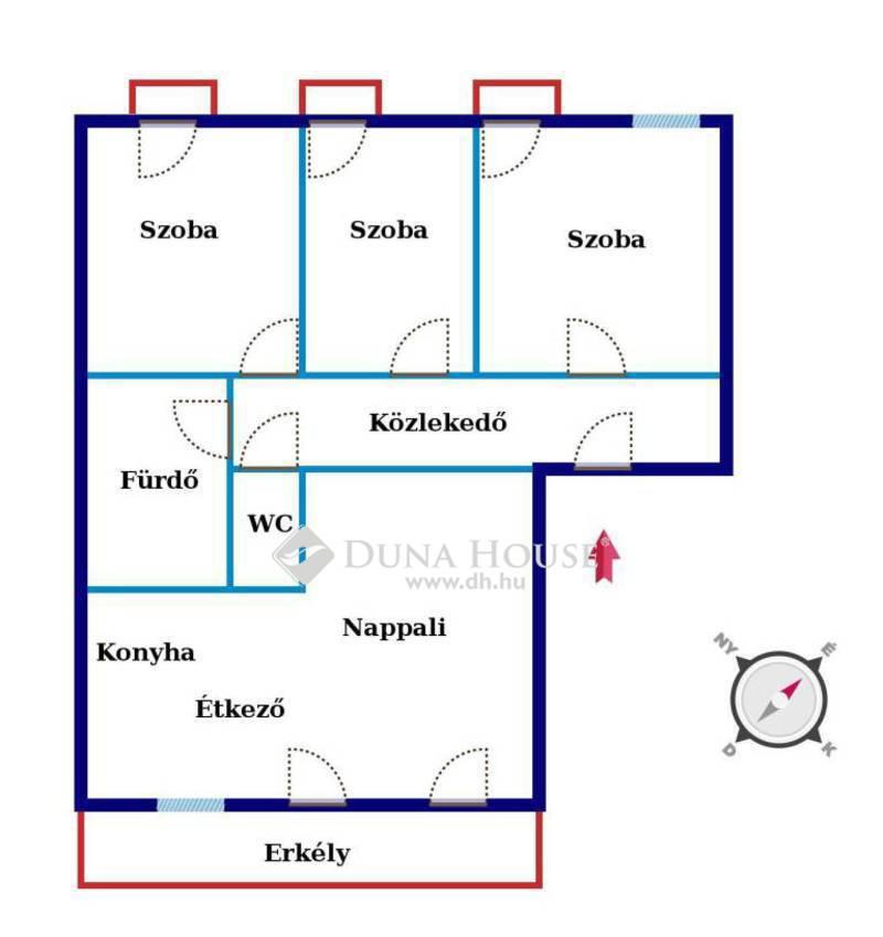 Eladó Lakás, Budapest, 14 kerület, Alsórákoson most épülő 4 szobás, erkélyes lakás