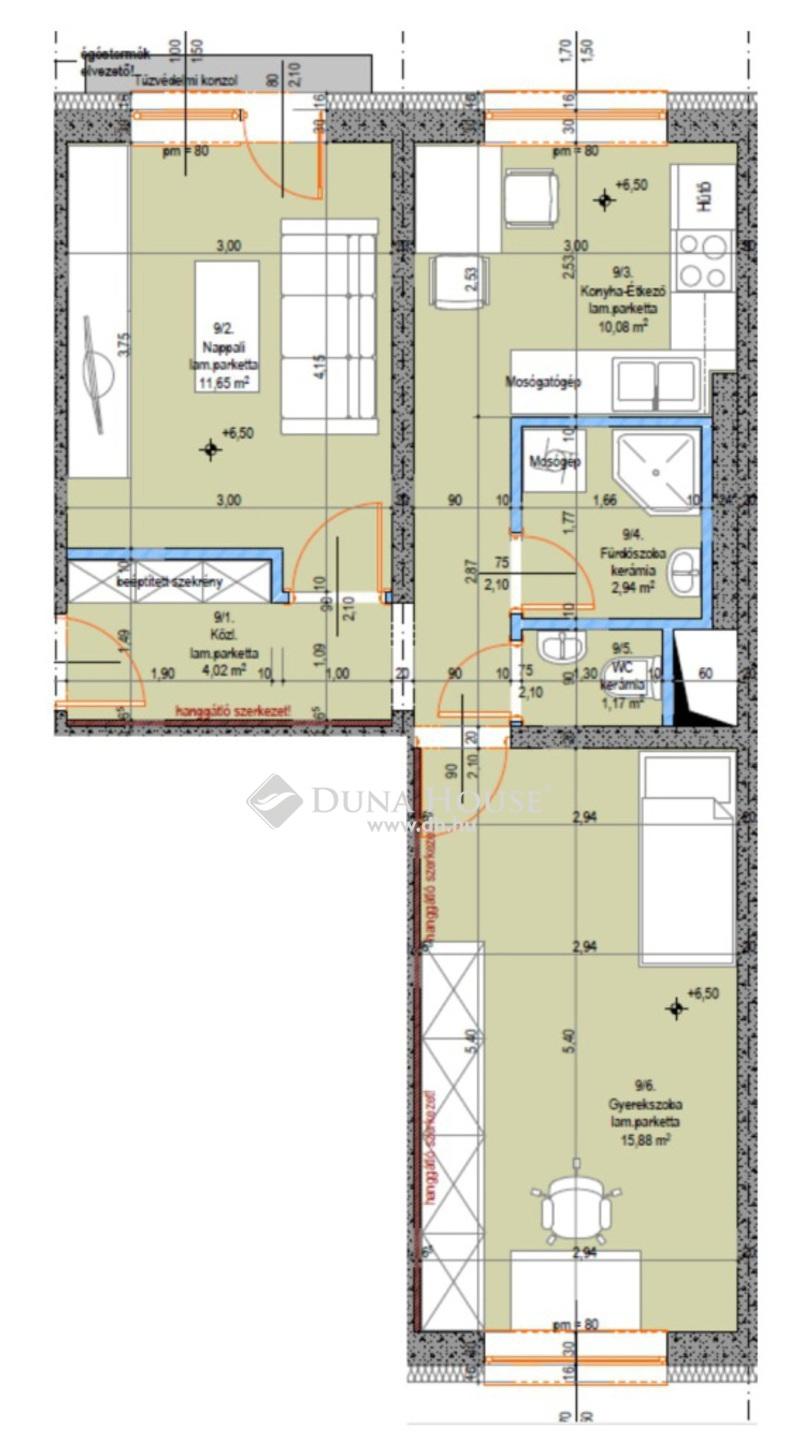 Eladó Lakás, Bács-Kiskun megye, Kecskemét, Újszerű 2 szobás lakás - 2. emelet