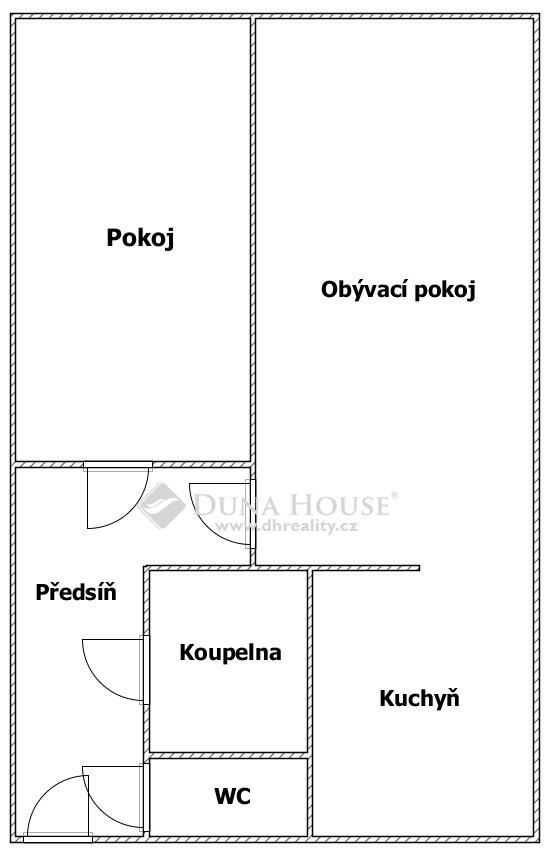 Prodej bytu, Vilímkova, Praha 5 Zbraslav