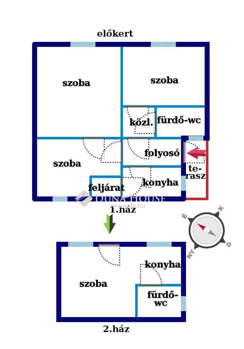 Eladó Ház, Budapest, 15 kerület, Vág utca