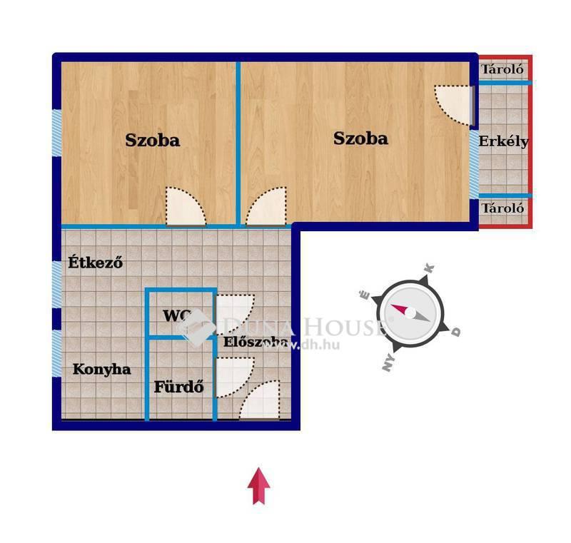 Eladó Lakás, Bács-Kiskun megye, Kecskemét, GYORS BIRTOKBAADÁSSAL korszerű lakás