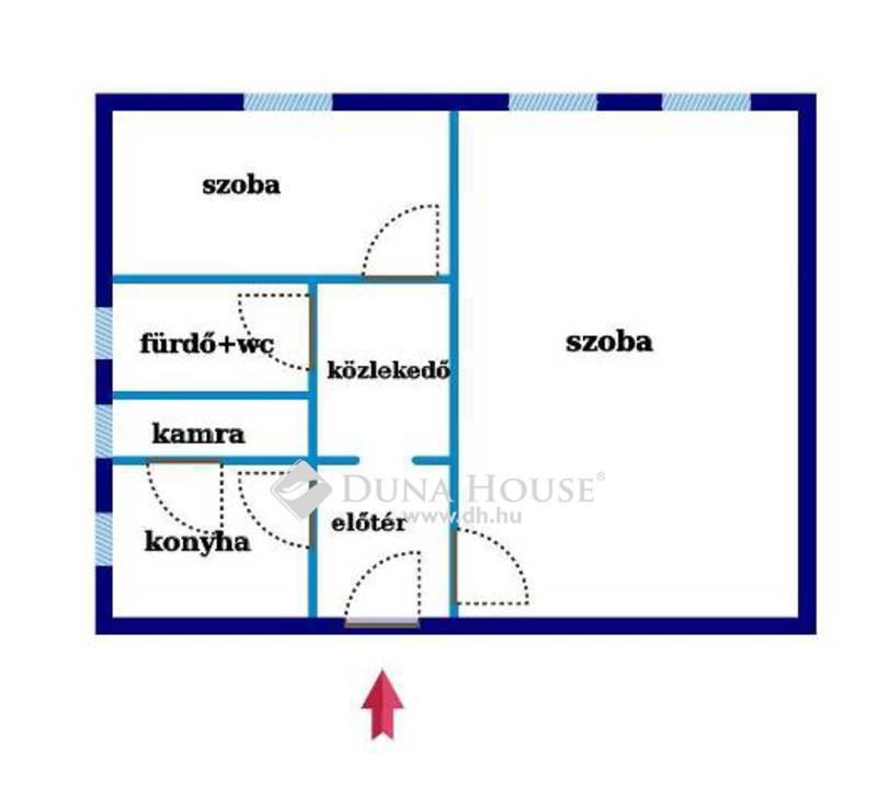 Eladó Lakás, Bács-Kiskun megye, Kecskemét, Belvárostól 5 percre, SZIGETELT, 1.5 szobás lakás