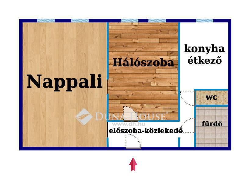 Eladó Lakás, Budapest, 11 kerület, A 11k.Csendes (kertváros melletti) részén.
