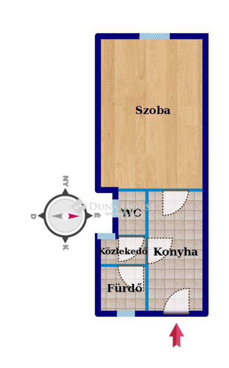 Eladó Lakás, Budapest, 8 kerület, Baross utcához közeli megújuló házban