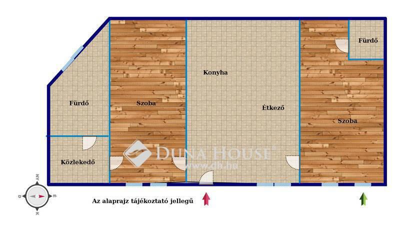 Eladó Lakás, Budapest, 7 kerület, Huszár utcánál, 2 lakássá alakítható