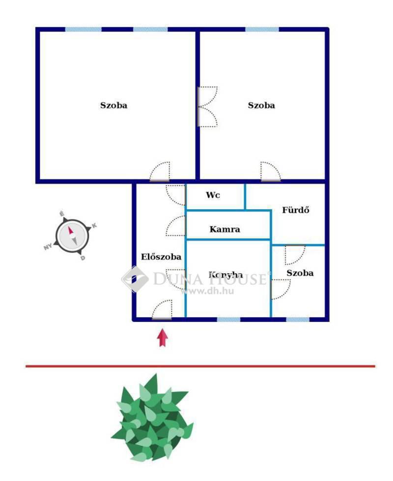 Eladó Lakás, Budapest, 12 kerület, Csendes, jól alakítható, polgári otthon