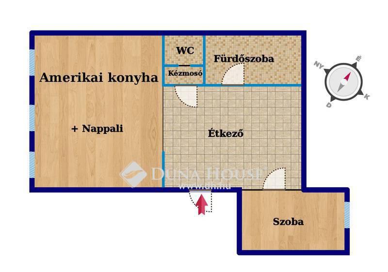 Eladó Lakás, Bács-Kiskun megye, Kecskemét, Liftes, 2 szobás, jó állapotú lakás!