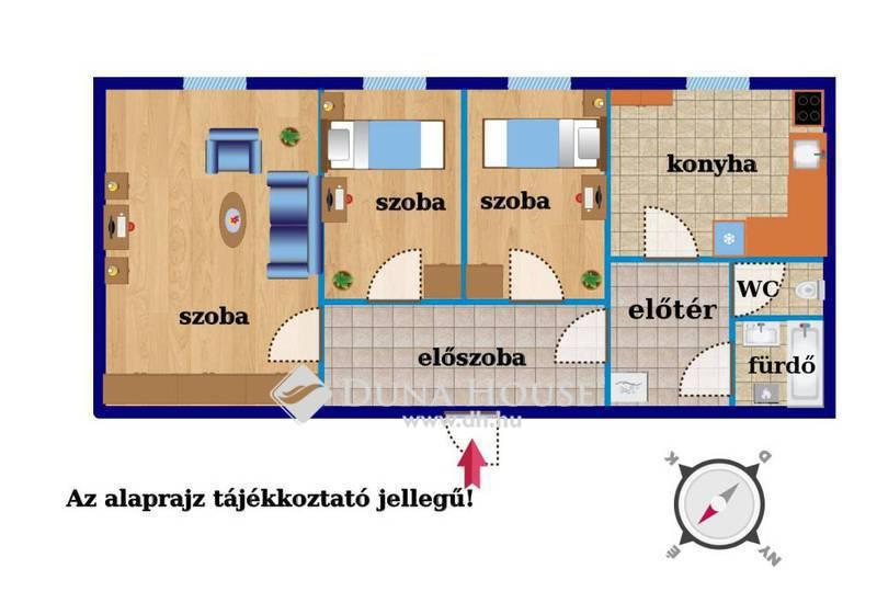 Eladó Lakás, Budapest, 19 kerület, Frekventált hely, remek állapot!