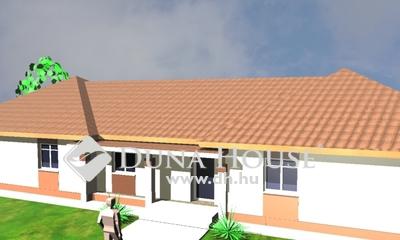 Eladó Ház, Pest megye, Erdőkertes, 70 nm-es házfél, 2 szoba nappalis