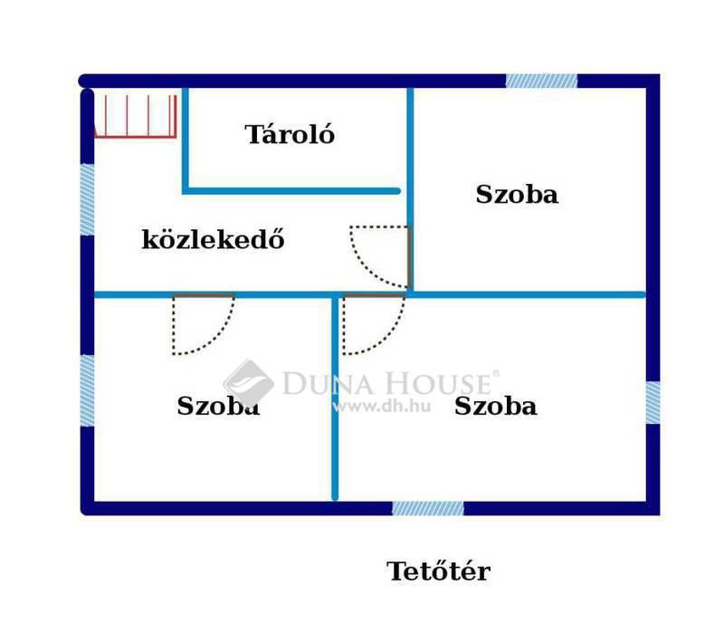 Eladó Ház, Pest megye, Sülysáp, Sülysápi dűlőben 63 nm-es kétszintes faház