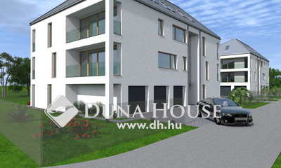 Tócóvölgyi lakóparkban 7 lakásos új társasház