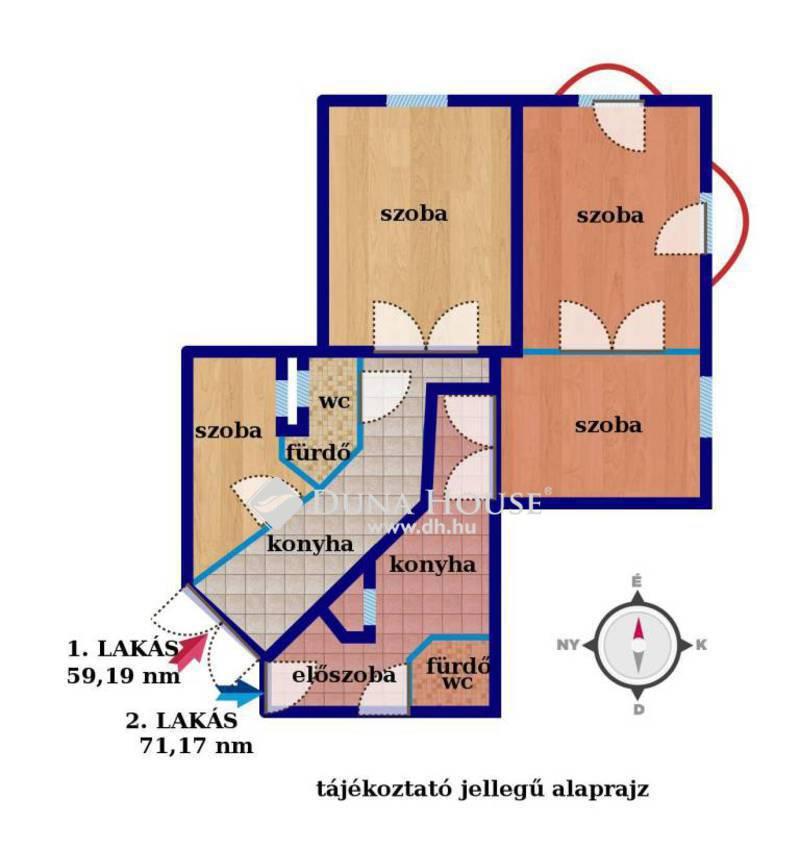 Eladó Lakás, Budapest, 8 kerület, Baross utca,nagypolgári felújított saroklakás