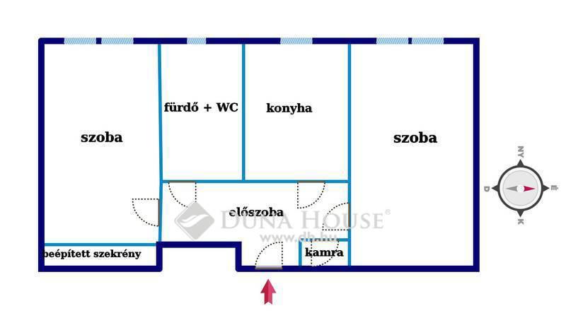Eladó Lakás, Zala megye, Zalaegerszeg, 2 szobás lakás Landorhegyen