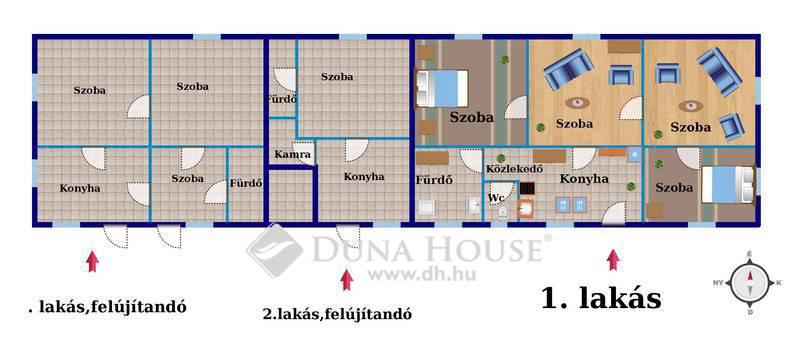 Eladó Ház, Baranya megye, Kölked, Külterület egyéb