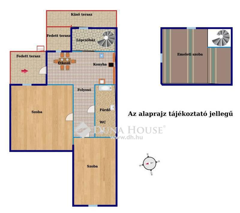 Eladó Ház, Budapest, 10 kerület, Gyalog utcában 3 szobás házrész