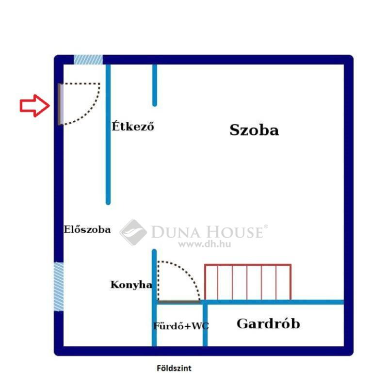 Eladó Lakás, Budapest, 18 kerület, Szemeretelep-en, 536 nm-es telken 34 nm-es házrész