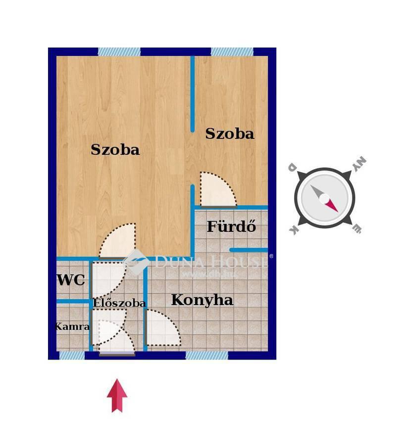 Eladó Lakás, Budapest, 10 kerület, Zágrábi utcában 2 szobás lakás