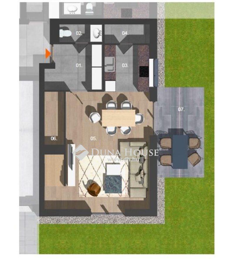 Eladó Lakás, Budapest, 16 kerület, Belső két szintes új lakás, 139 nm saját kerttel