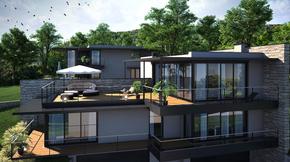 Eladó ház, Budaörs, Újépítésű minimál ház örök panorámás telken