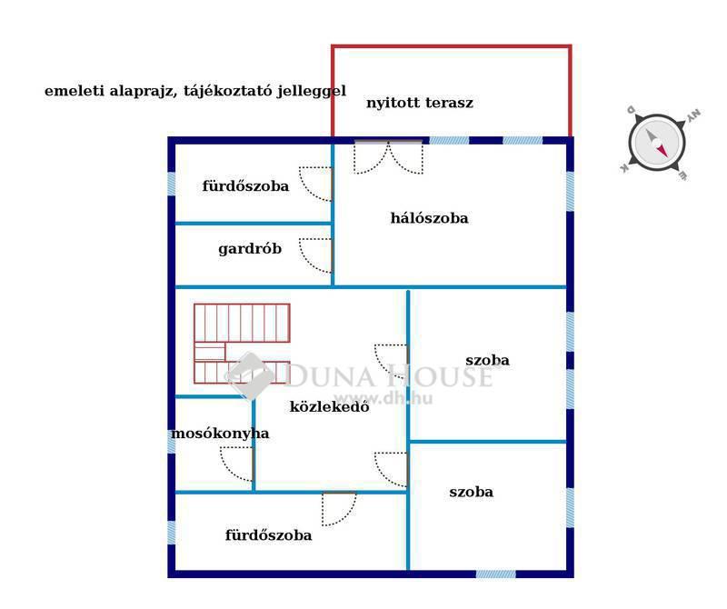 Eladó Ház, Budapest, 2 kerület, Csendes, panorámás, remek közlekedés