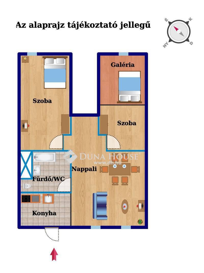 Eladó Lakás, Budapest, 10 kerület, Kőbánya alsón 3 szoba, 64 nm, remek közlekedés!