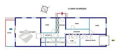Eladó Ház, Hajdú-Bihar megye, Hajdúsámson, Sámsonkert frekventált részén
