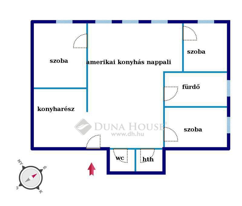 Eladó Lakás, Budapest, 7 kerület, Nappali+ 3 hálós felújított lakás