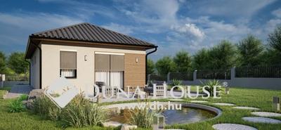 Eladó Ház, Bács-Kiskun megye, Kecskemét, Helvécián 75m2-es új-építésű, napelemes téglaház