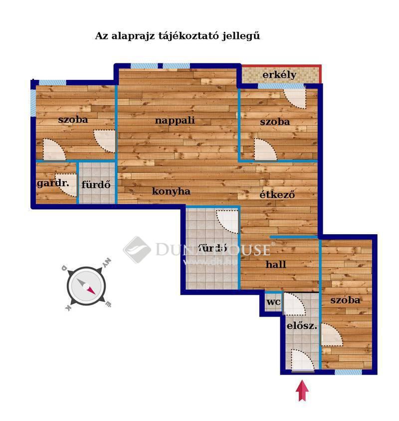 Eladó Lakás, Budapest, 6 kerület, VI. ker. Zichy Jenő utcában luxus 4 szoba, erkély