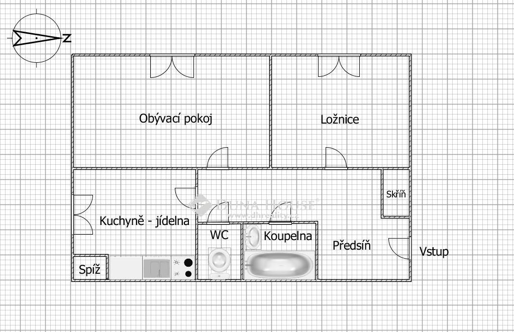 Prodej bytu, Žinkovská, Praha 10 Strašnice