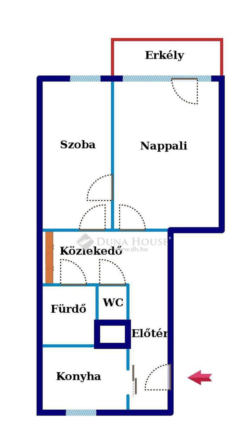 Eladó Lakás, Budapest, 8 kerület, PANELPROGRAMOS, VÁROSI PANORÁMÁS, JÓ ÁLLAPOTÚ!
